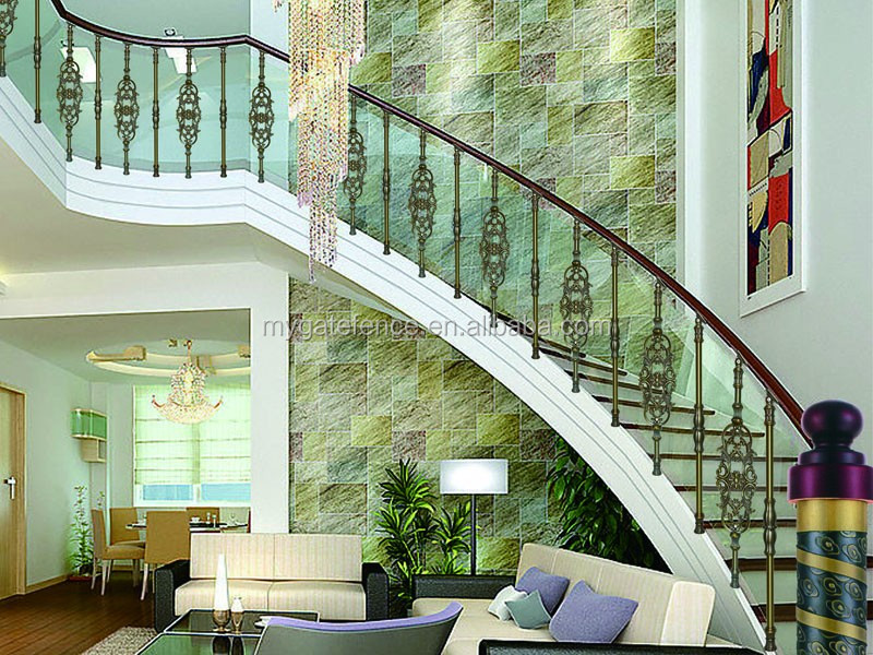 Rampe D\'escalier D\'intérieur De Gril En Aluminium Pour  Escaliers,Garde-corps D\'escalier Intérieur Design - Buy Garde-corps  D\'escalier ...
