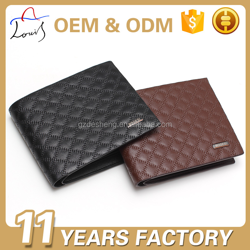High Quality OEM trend PU Men's Wallet