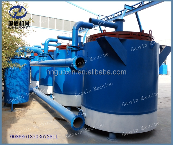 9 tons Per Day Coconut Shell Carbonizing Machine For Making Charcoal