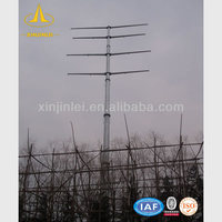 220kV Steel Pole for Electrical Power Transmission and Distribution
