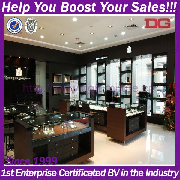 Free Design Retail Shop Jewellery Showroom Display Rack Designs ...