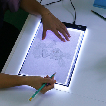Slim Led Adjustable Tracing Board Tattoo Light Box Illuminated Copy Board  A4 Led Light Pad For School Teaching - Buy Led Tracing Board,Light  Box,Light