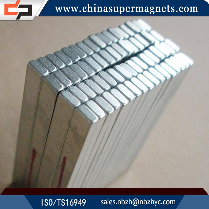 Professional Manufacturer Customized Industrial n42 ni 50x30x20 neodymium magnet
