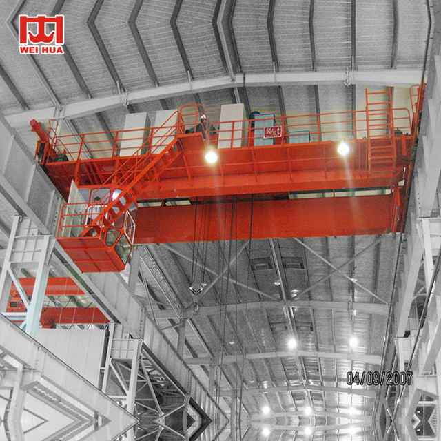 25 ton 30 ton 50 ton double girder double hook bridge crane