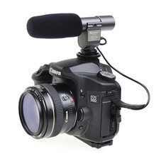 Photo Studio Accessories  SG108 Shortgun Mic Video FOR  Canon 5D Mark II 7D 60D T3i