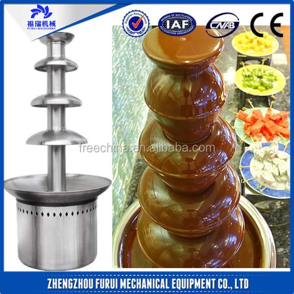 Stainless steel large chocolate fountain/double chocolate fountain/chocolate fountain sale
