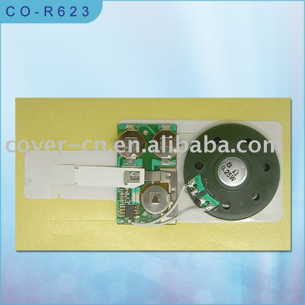 Sound module for toy/Sound chip for print