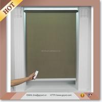 motorized window roller blind/electric outdoor blinds windows/roller shade