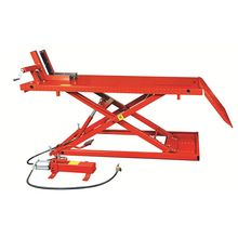 Hydraulic scissor motorcycle car lift with 1500BL