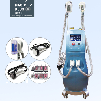 S19 Professional Cryolipolysis Cool Tech Fat Freezing Slimming Machine