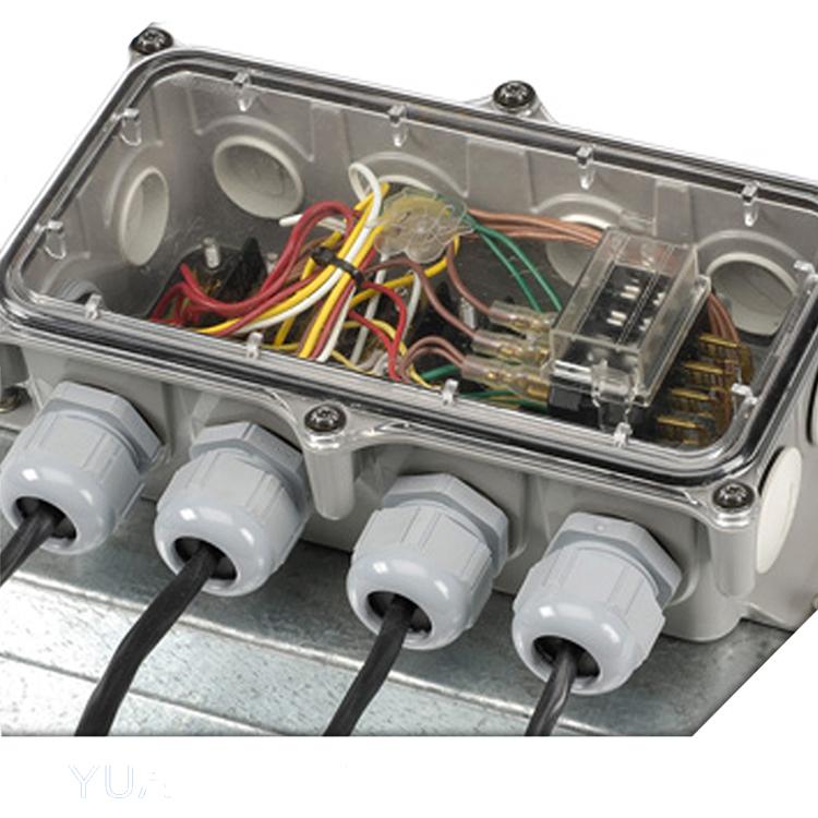 Étanche à IP67 Standard Jusqu/'à Quatre Électrique Boîtier de Jonction