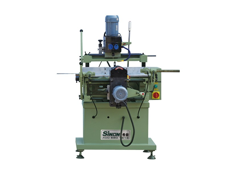 China Manufacturer Aluminum profile Double head Copy Router window making Machine