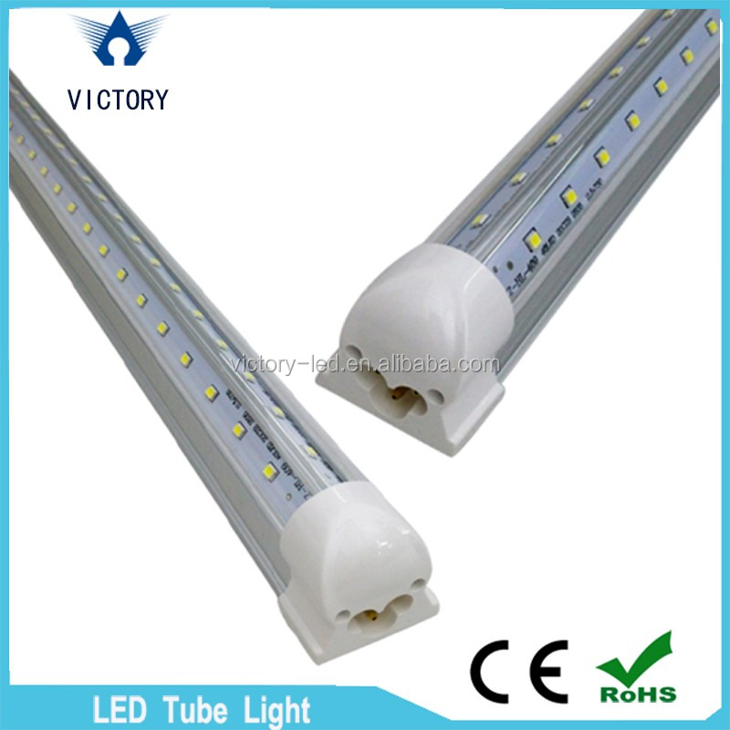 Single pin/g13/integrated 4ft 5ft 6ft 8ft 60w Led Tubes V Shape Led Tube Light