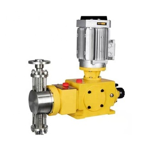 Plunger ram piston pump acid chemical metering dosing pump for water treatment