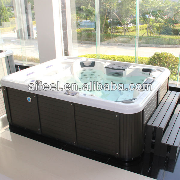 Competitive price control CE approved USA Aristech Acrylic jet hot tub outdoor spa aristech balboa