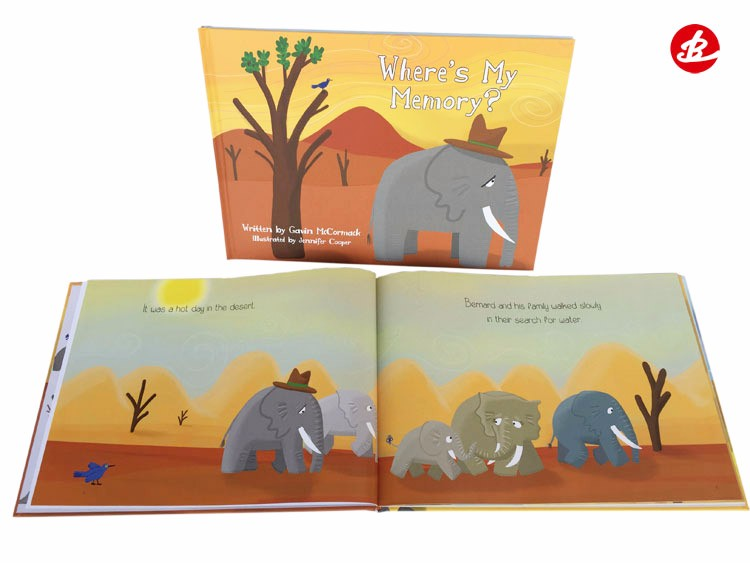 High Quality New Design Service Child Hardcover Book Printing