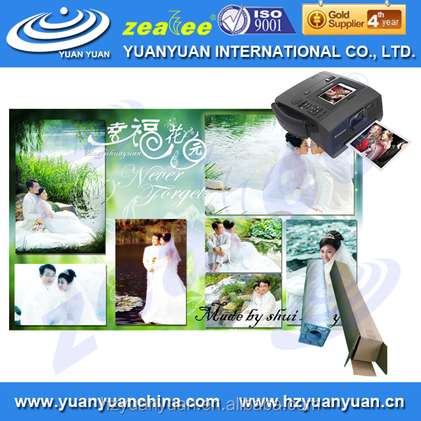5WP-260PHG HIGH QUALITY! YUNAYUAN waterproof glossy RC pinkjet photo copy paper a4 in roll