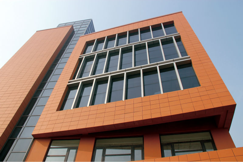 Exterior Tile Panel ~ Glazed dry hanging system exterior wall terracotta tiles