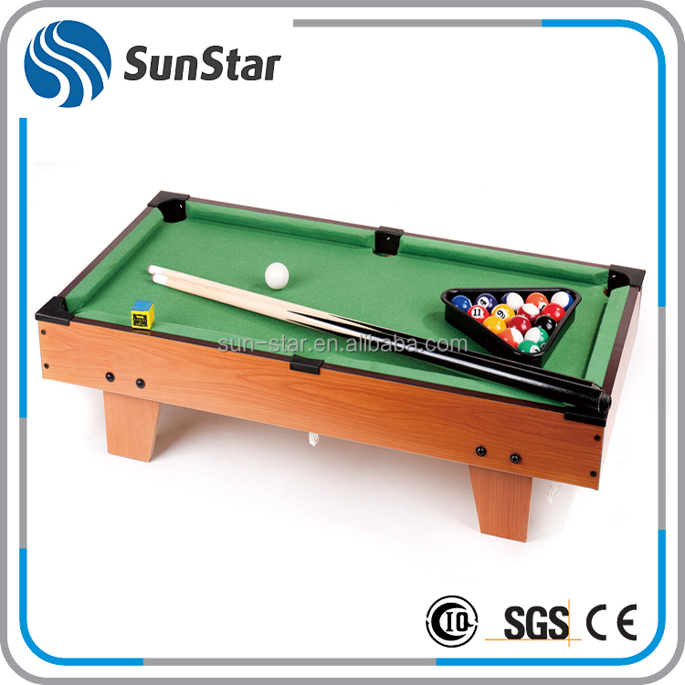 competitive price mini popular foldable pool table