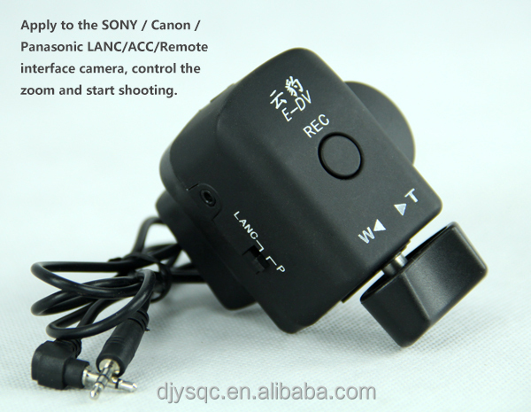 Camera Remote Zoom Controller For Canon And Fuji - Buy Remote  Controller,Zoom Controller,Camera Controller Product on Alibaba com