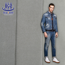 Hot selling cotton polyester rayon spandex colored denim fabric for shirts