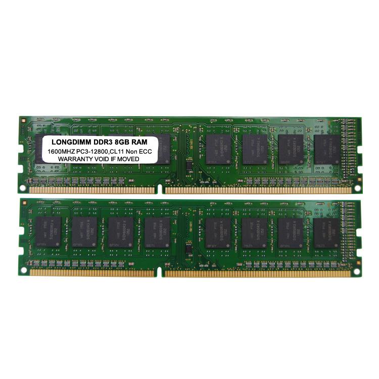 Bureau 8 go ddr3 ram 1600 Mhz barrette de mémoire