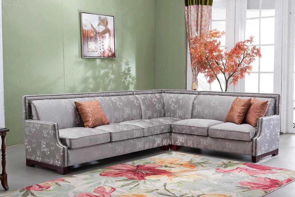 2017 Purple Low Price Sofa Set Latest