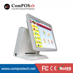 15 Inch pos terminal with nfc reader touch screen ordering system For restaurant