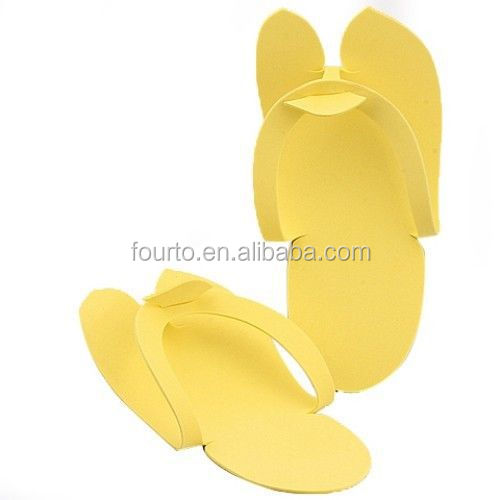 Superb EVA foam disposable pedicure thong slippers for nail care