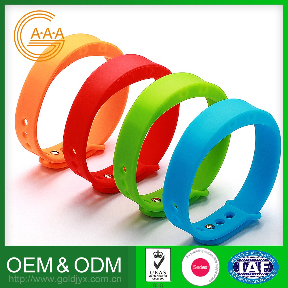Custom Oem Silicone Wristband Wholesale Various Colors Waterproof Smart Wrist Band