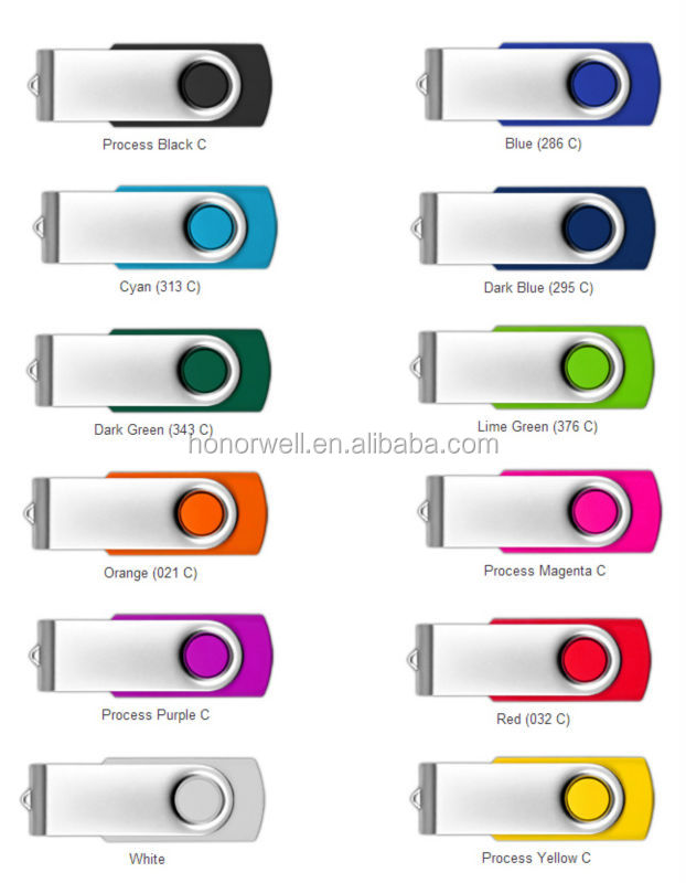 Swing Memory Usb Flash Drive For Cooperation Activities