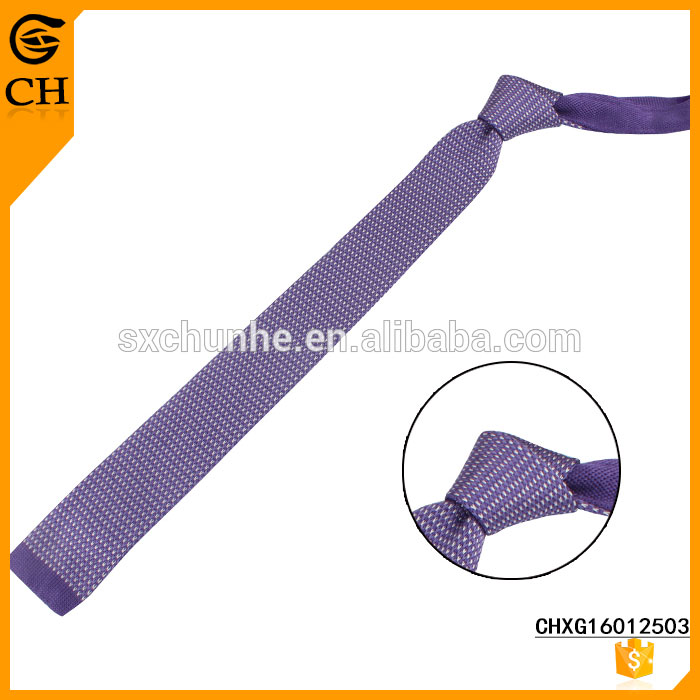 Hot Sell Newest Design Popular Custom knit tie for individual buyer