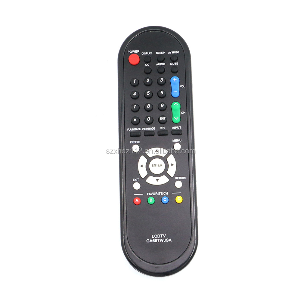 GA667WJSA Replacement Remote Control fit for Sharp LCD TV