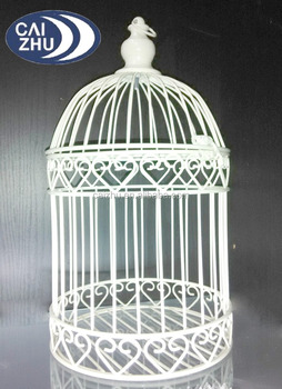 Mannufacturer China Wholesale Decorative Bird Cages Wedding For Sale