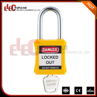 Elecpopular Hot The Combination Famous Brand Safety Stainless Steel Padlock 38mm