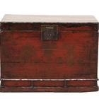 "31"" living room storage trunk home decoration cheap Chinese antique wooden trunk"