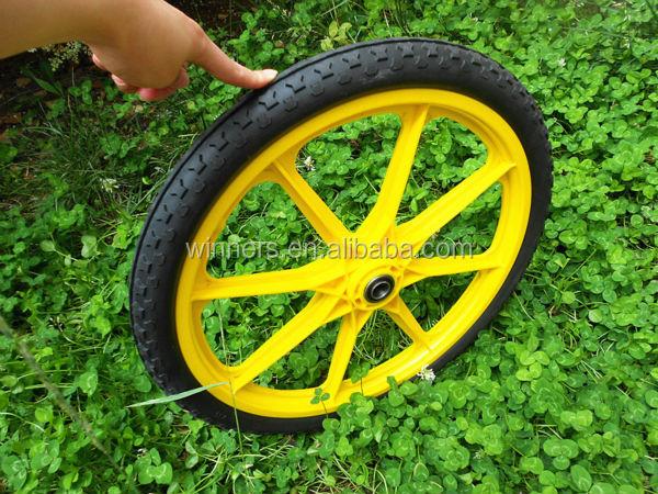 16 Inch Pneumatic Plastic Garden Cart Wheels Buy 16x2125 Cart