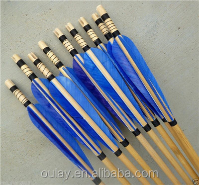 11/32 Target Pine Arrows Hunting Archery Arrows Bow Wooden Arrows Longbow