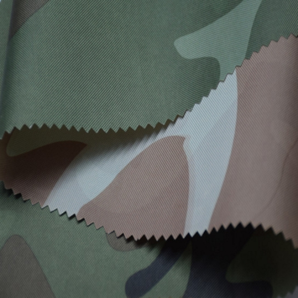Factory Price Military Camouflage 210D Print Fabric Tent Fabric
