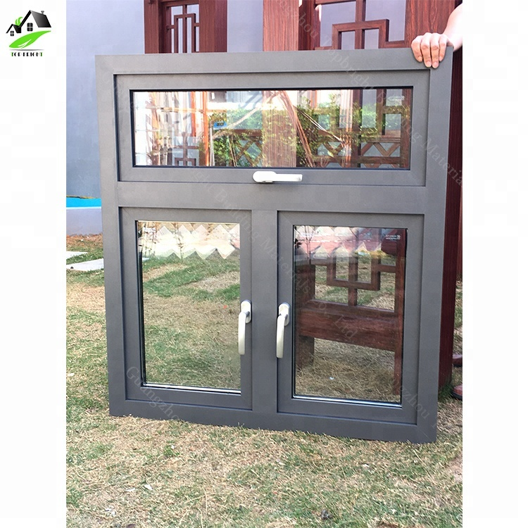 brand new f7a47 6a966 Powder Coated Grey Color Aluminium Window With Double Glazing - Buy Double  Pane Aluminum Window,Grey Color Aluminum Windows,Aluminum Window Product on  ...