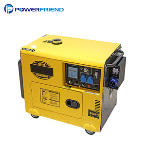 Single Phase AC generator 230V Small Portable 7kva Silent Diesel Genset