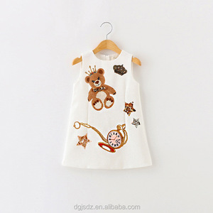 New Model Children Custom teenage kids clothes european kids clothes
