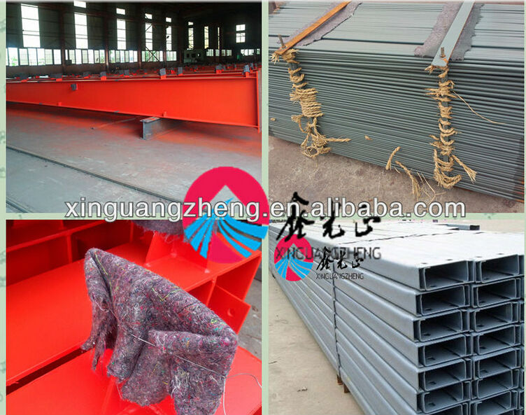 multi storey Steel Structure Prefabricated Warehouse