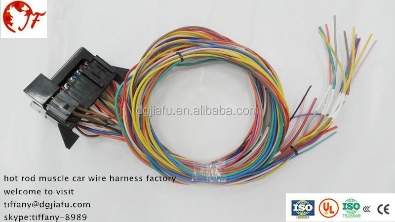whole universal 14 circuit wiring harness fuse holder high universal 14 circuit wiring harness fuse holder high quality universal muscle car hot rod