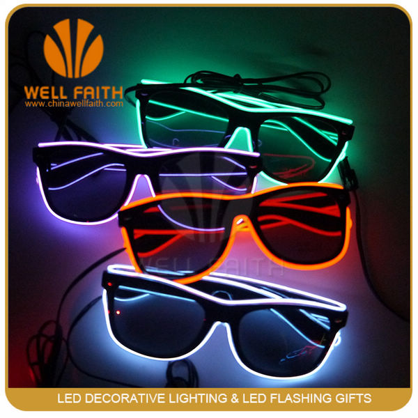 Productos m s vendidos el alambre led light up gafas decoraciones navide as led light up gafas - Articulos mas vendidos ...
