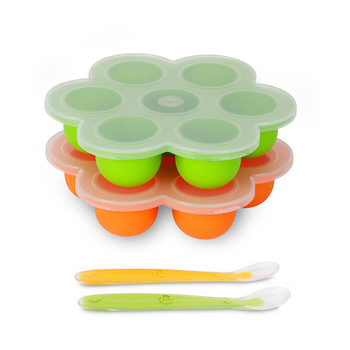 BPA Free silicone Baby Food Storage Container silicone egg bite mold