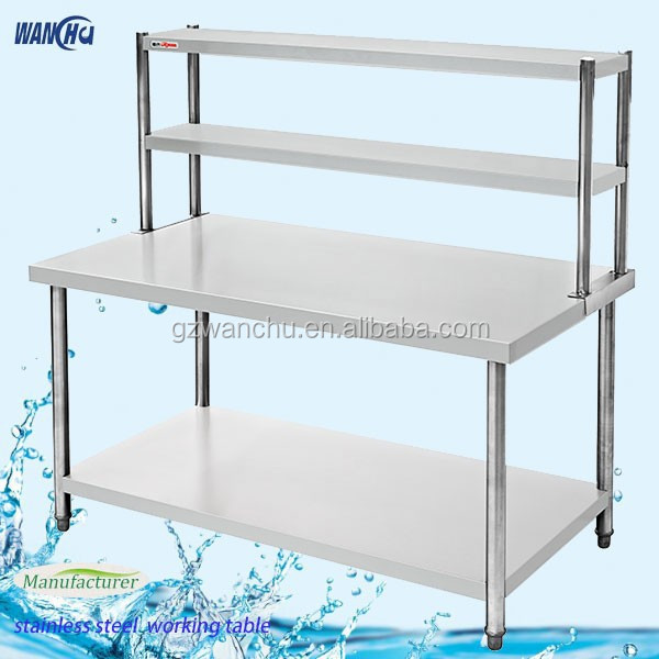 ... In Malaysia/heavy Duty Industrail Kitchen Workbench With Over Shelf  China Factory   Buy 2 Layers Kitchen Work Bench In Malaysia,Stainless Steel  Kitchen ...