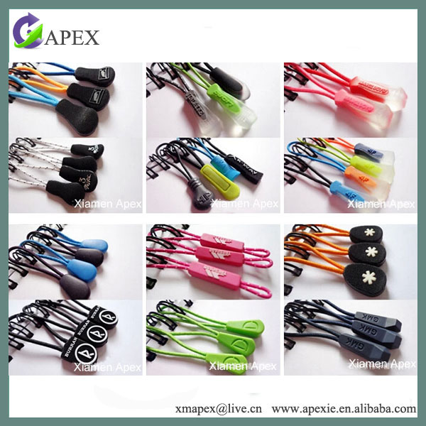 Eco Friendly elastic zip puller in High Quality