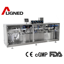 Good Quality plastic bottle and sealing small liquid filling machine