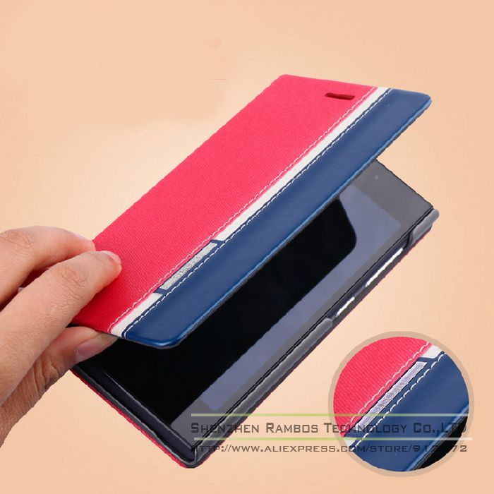 Faux Leather Wallet Flip Stand Case Cover Card Holder for Samsung i8000